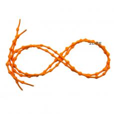 Шнурки для обуви с узелками эластичные 2Life Оранжевый (n-519)