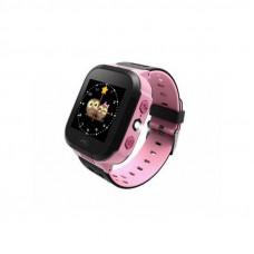 Детские Смарт часы с GPS  T12  Розовые Хит!