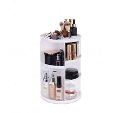 Органайзер для косметики вращающийся Cosmetic Organizer 360 Rotation 305х230 mm Белый (300615WH)