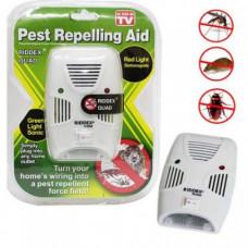 Отпугиватель электромагнитный мышей тараканов мух комаров Riddex Quad Pest Repelling Aid (n-596)