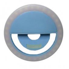 Вспышка-подсветка Trend-mix селфи-кольцо для телефона Голубой (tdx0000600)