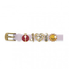 Браслет силиконовый Biojoux BJB005 Charms Bracelet MIX 5 White (4669)