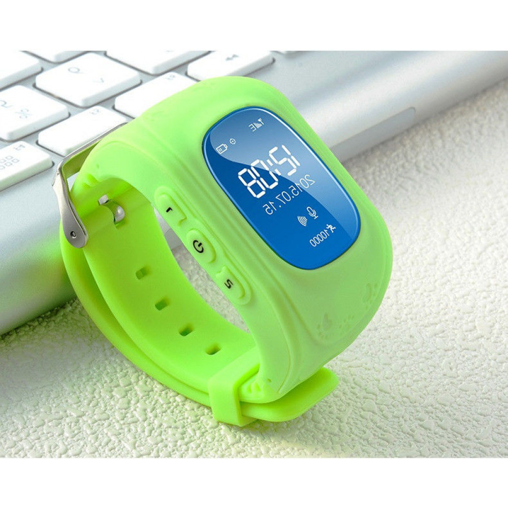 Smart Baby Watch Q50 зеленые с GPS трекером. ОРИГИНАЛ инструкция на русском языке