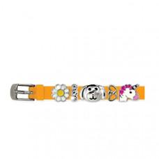 Браслет силиконовый Biojoux BJB008 Charms Bracelet MIX 8 Redhead