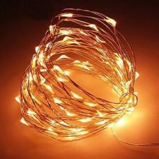 Светодиодная гирлянда LTL Капля росы длина 10м 100led Теплая Warm (10м100lwarm)
