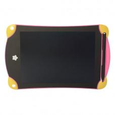 Планшет графический METR+ LCD для рисования Writing Tablet Pad K7008L 8,5 дюймов Розовый (K7008LR-PINK)
