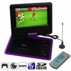 Портативный TV DVD плеер 1289 12 дюймов