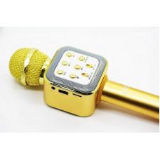 Беспроводной караоке микрофон DM Karaoke WS 1818 с функцией колонки , черный