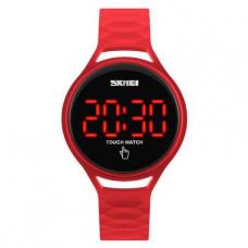 Спортивные часы Skmei 1230 красные сенсорные Водостойкость: 3 АТМ