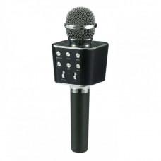 Беспроводной Bluetooth караоке микрофон WS-1688 Black (G101001168)