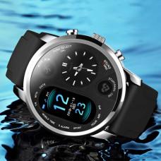 LEMFO T3Pro умные часы многофункциональные спортивные dual time zone дисплей умные водонепроницаемые часы