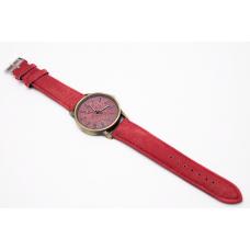 Наручные часы джинсовые 2Life Красный (n-447)