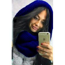 Трендовый теплый шарф-хомут