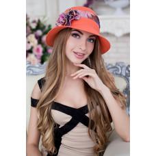 Шляпа «Сюзет» (коралловый) Braxton