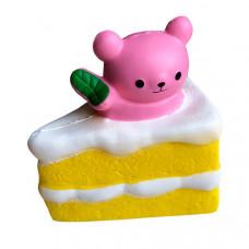 Мягкая игрушка антистресс Сквиши Squishy Тортик с Мишкой (tdx0000071)