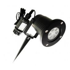Светодиодный проектор  Рождественский водонепроницаемый (hub_sWnd64106)