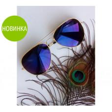 """Солнцезащитные очки """"Aquamarine"""" с тонкими дужками"""
