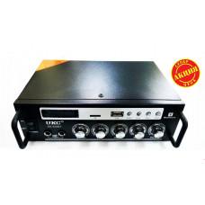 Усилитель звука AMP SN 838 BT с  BLUETOOTH  USB + SD + AUX + Bluetooth + Караоке