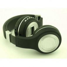 Наушники bluetooth беспроводные MHZ 471 microSD FM MP3 Black (007025)