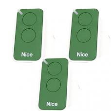 Комплект Nice - 3 пульта для ворот Nice ERA INTI 2 Зеленый (hub_BTdY91493)