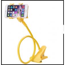 Гибкий Холдер штатив для телефона ALISTOR V90  Желтый  80см