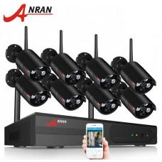 Комплект WiFi видеонаблюдения Anran 8сh 1080P