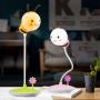 Детский 3D ночник  Пчелка зеленая база Лампа с аккумулятором