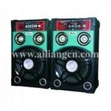 "Акустическая система Ailiang USBFM-298F-DT 10"" Bluetooth"
