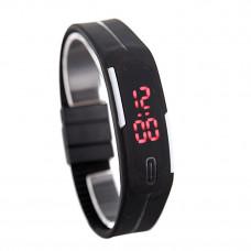 Наручные LED часы браслет 7 цветов