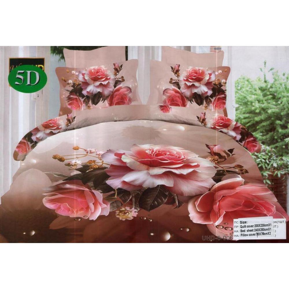 Комплект постельного белья (евро-размер) - № 504