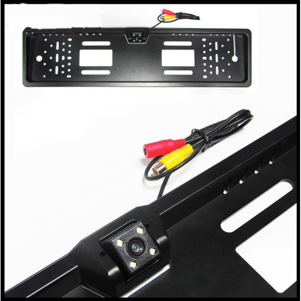 Автомобильная рамка с камерой заднего вида под номер Orly OK01