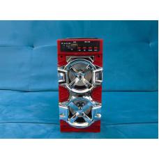 Акустическая система QS-105 красная bluetooth Качество / Минимальная цена  !