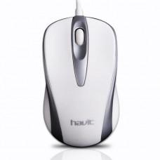 Проводная USB оптическая мышь Havit HVMS675 White (003955)