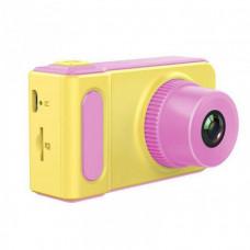 Детский цифровой фотоаппарат Smart Kids Camera V7 Розовый