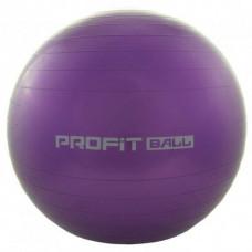 Фитбол мяч для фитнеса Profit 85 см усиленный 0384 Фиолетовый (007315)