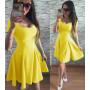"""Платье летнее """"Кокетка"""" из бенгалина - распродажа модели код: 803"""