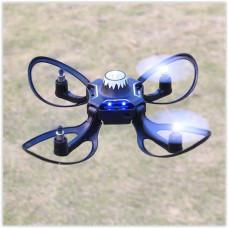 Складной квадрокоптер - дрон VOLCANO W606-16 с управлением рукой