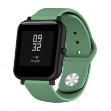 Ремешок BeWatch силиконовый для Xiaomi Amazfit Bip Зеленый (1010306)
