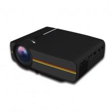 Проектор мультимедийный с динамиком LEJIADA Led Projector YG400 Black (006944)
