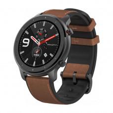 "Смарт часы Xiaomi Amazfit GTR aluminium alloy (47mm) black Экран 1,39"" AMOLED, GPS, шагомер, пульсометр, Bluetooth,"