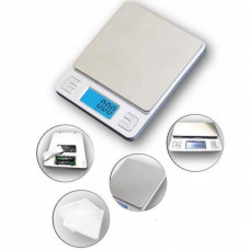 Ювелирные электронные весы KS-386 с 2мя чашами 0,01- 500 грам + батарейки