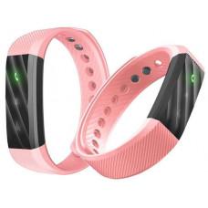Фитнес-браслет ID115 LITE  - розовый  Шагомер, уведомления о вызовах и смс
