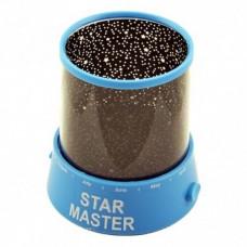 Ночник - проектор Supretto Star Master от USB Голубой (5440-0002)