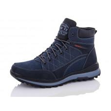 Ботинки мужские Nasite M92-5В на меху. Размеры 40-45. Синие