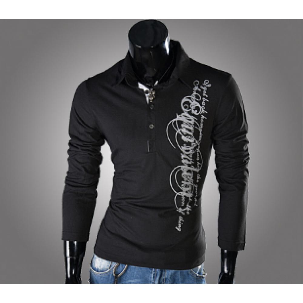 Свитшот, кофта с графическим принтом black M-XXL код 43