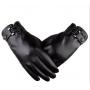 Перчатки мужские для сенсорных экранов код 16 коричневые