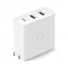 Зарядное устройство белое Xiaomi ZMI Fast Charging 65W 2-USB+UCB-C  White