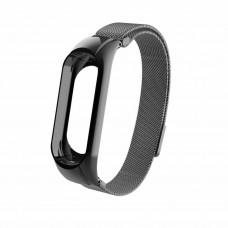 Ремешок черный Magnetic V2 for Xiaomi Mi Band 3 color Black
