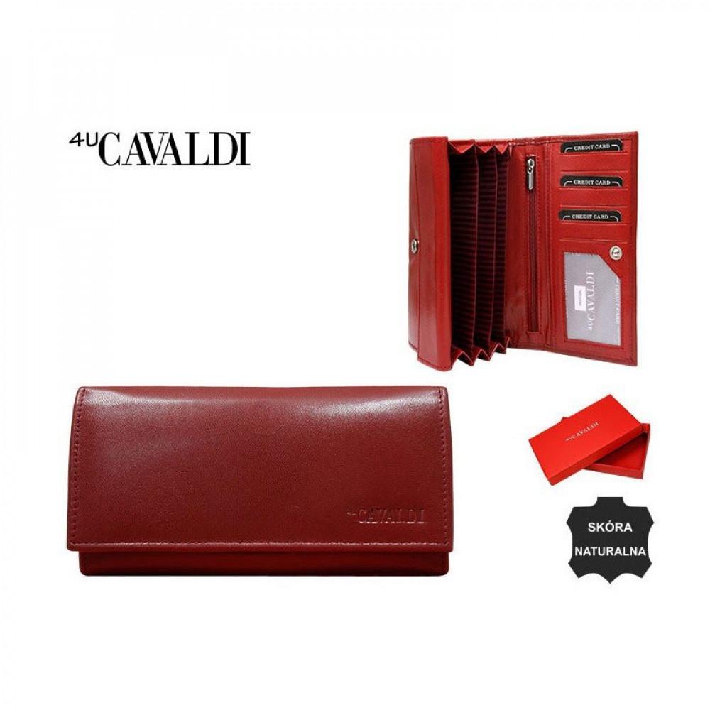 Стильный женский кошелек Cavaldi натуральная кожа NEW 2020 №285