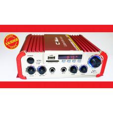 Усилитель звука CM-2047U  USB+SD+AUX+Караоке